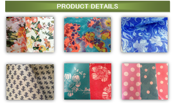 80gsm printed nonwoven fabric