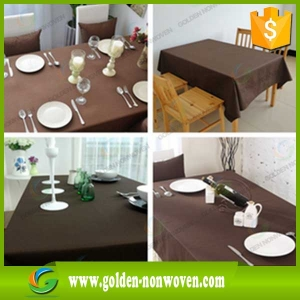 Cheap Polypropylene Non Woven Table Cover Manufacturer
