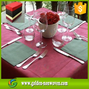Wholesale Nonwoven Tablecloth Fabric