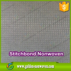 Venta al por mayor 100% poliéster stich vinculados no tejido hecho por Quanzhou Golden Nonwoven Co.,ltd