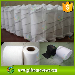 Spunbonded Non Woven Furniture Material Upholstery Nonwoven Fabric made by Quanzhou Golden Nonwoven Co.,ltd